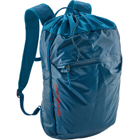 Patagonia LW Black Hole Cinch Backpack 20L Balkan Blue
